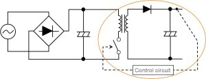 Figure 13. DC/DC conversion part based on a switching system