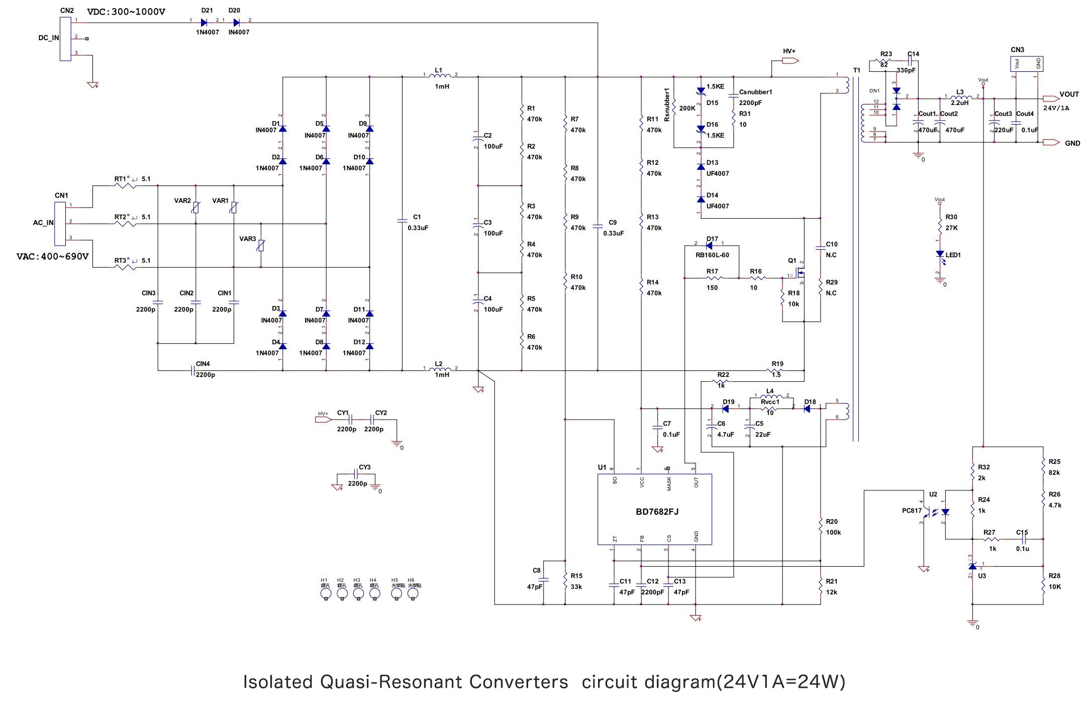 Selecting Critical Componentsinput Capacitor And Balancing Resistors Capacitors In A Circuit The Capacitance