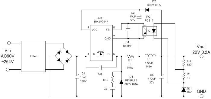 Overview of Design Examples of AC/DC Non-isolated Buck ... on