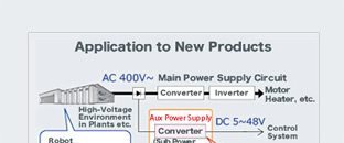 Delivering High Voltage and Low Loss Sought in Auxiliary Power Supplies for Industrial Equipment