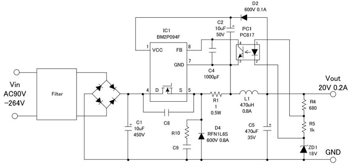 selection of power supply ics and design examples basic AC to DC Rectifier Circuit DC to AC Power Converter