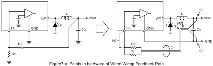 Feedback Path Wiring | Basic Knowledge | ROHM TECH WEB ... on